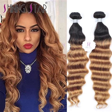 ombre weave hair st popular curly blonde weave buy cheap curly blonde weave