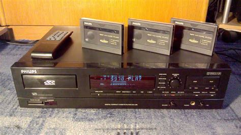 digital cassette recorder philips dcc600 digital compact cassette recorder
