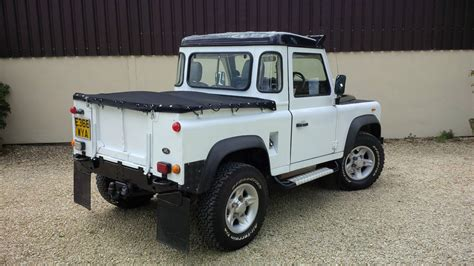 white land rover defender 90 1988 land rover defender 90 300tdi white defender 90