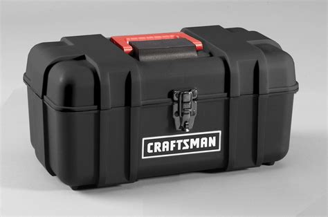 Tool Box Plastik Prohex 14 craftsman 14 quot plastic tool box with removable tray tools
