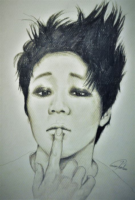 V Drawing Jimin by Jimin Bts By Thecorinna On Deviantart