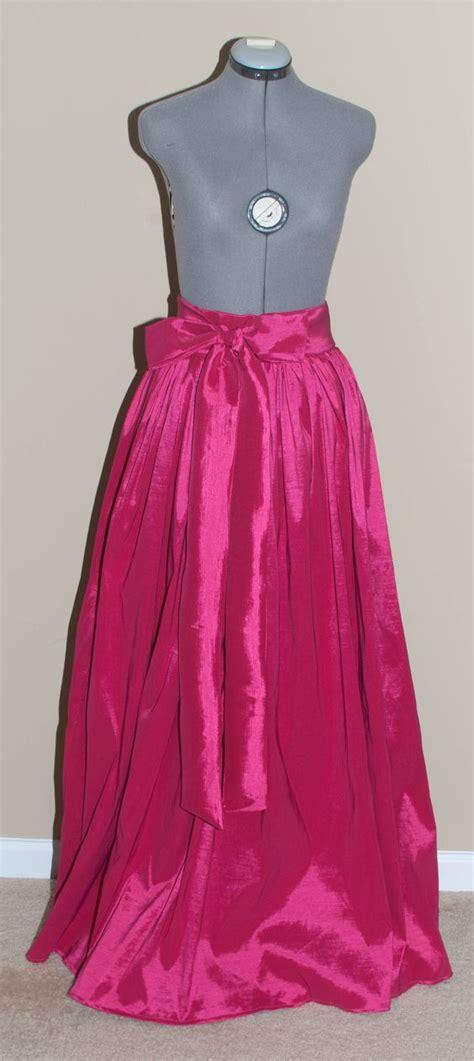 the gown skirt diy taffeta maxi skirt skirt