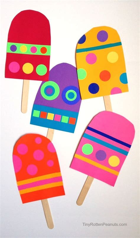 Simple Paper Crafts For Toddlers - 25 best ideas about preschool summer crafts on