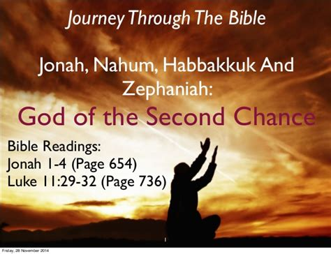 jesus every day a journey through the bible in one year books journey through the bible jonah god of the second chance