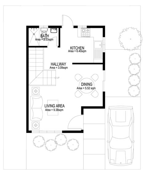 two story house plans series php 2014007 pinoy house two story house plans series php 2014003