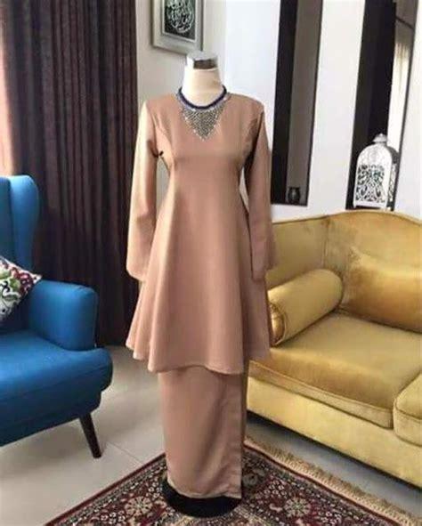 Iliana Set Gamis Kuning Fit Xl Murah 25 best ideas about baju kurung on kebaya