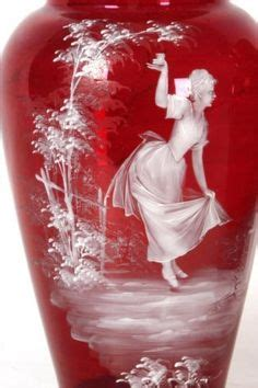 Cranberry Gregory Glass Bidadari 16274 1000 images about glass brilliant carnival depression fenton gregory steuben on