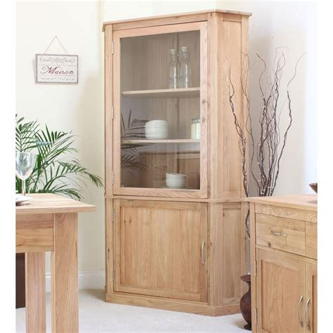 Corner Cabinet Living Room Furniture Mobel Corner Display Cabinet Cupboard Glazed Solid Oak Living Room Furniture Ebay