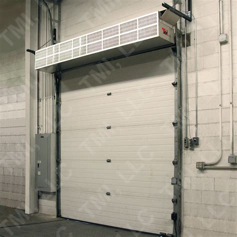 dock door air curtains medium industrial series s mi air curtains tmi llc