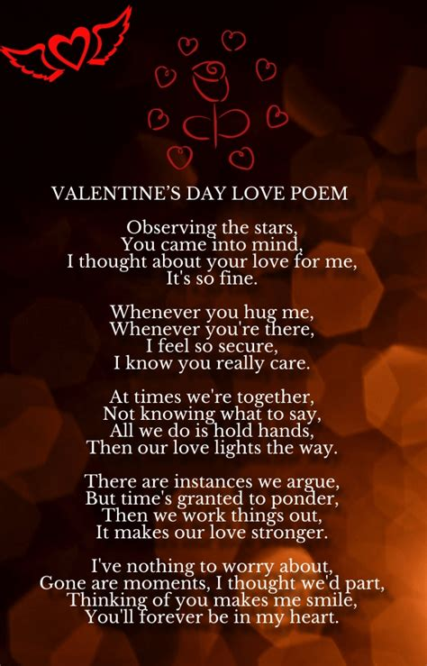 valentines day poems your valentine s day poems for him and hug2love