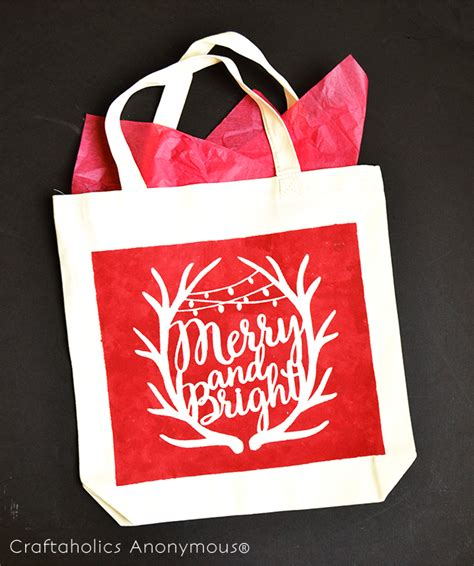 craftaholics anonymous 174 festive christmas gift bag with