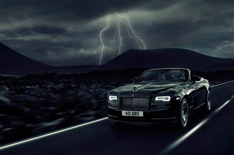 roll royce night dark night rises rolls royce dawn black badge revealed at