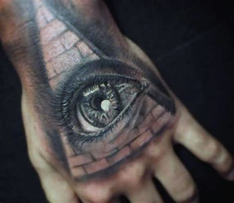 pyramid eye tattoo illuminati tattoos tattoofanblog