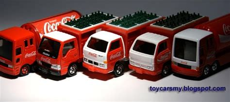 featured collection tomica coca cola trucks cars