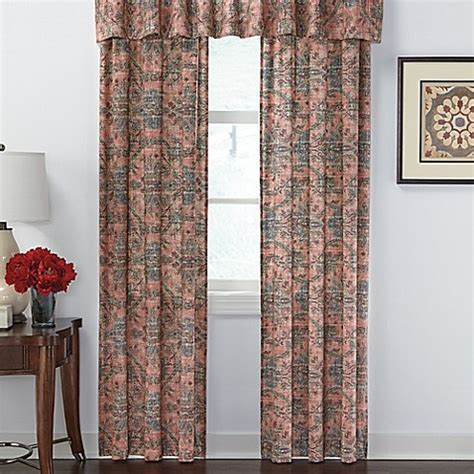 cheap curtain panel pairs jacobean window curtain panel pair and valance bed bath