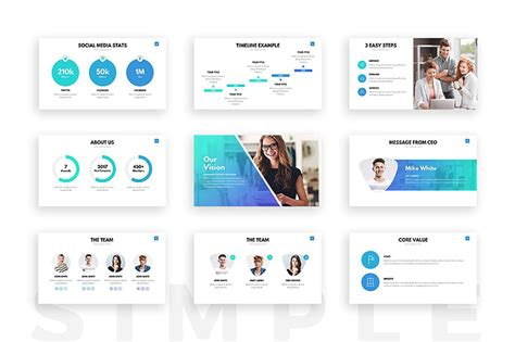 17 Minimalist Powerpoint Templates For Clean Simple Presentations Clean Powerpoint Templates