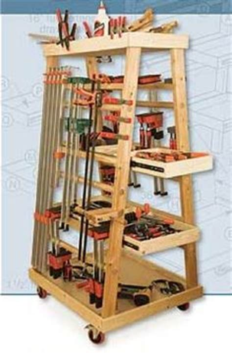 Mobile Lumber Storage Rack Plans by Quot Small Shop Quot Mobile Cl Rack Diy Workshop Storage
