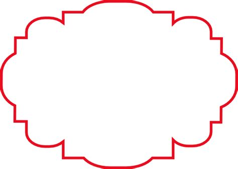 large red label clip art at clker com vector clip art