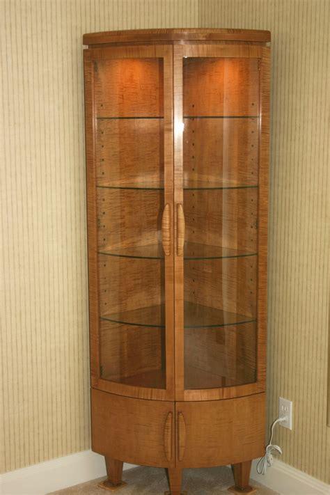 glass corner curio cabinet corner curio cabinet antique curio cabinet