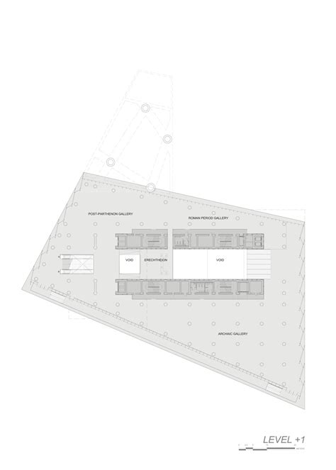 new museum floor plan gallery of new acropolis museum bernard tschumi