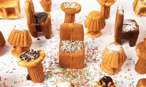 Miniatur Wafel cetakan kue berbentuk furnitur c a l community