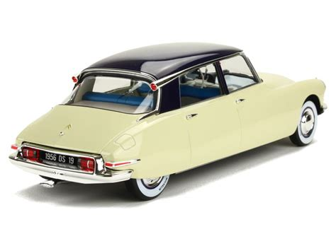 Citroen Ds19 1955 Burago 132 citro 235 n ds19 salon de 1955 norev 1 18 autos miniatures tacot