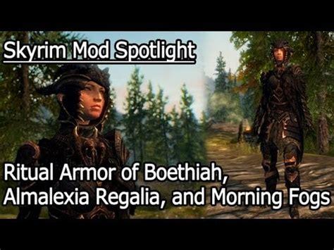 ritual armor of boethiah at skyrim nexus mods and community skyrim mod spotlight ritual armor of boethiah almalexia