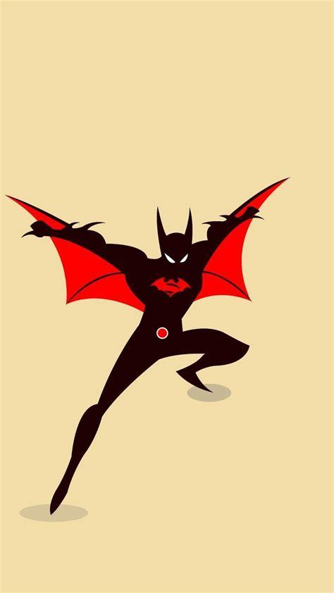 iphone wallpaper batman cartoon batman beyond wallpapers wallpaper cave