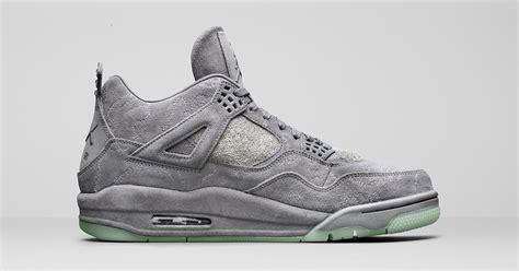 kaws x nike air 4 retro cool sneakers