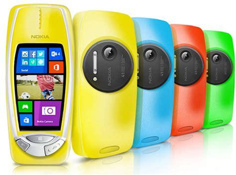 Nokia 3310 Gets 41 Megapixel nokia 3310 con windows phone y c 225 mara de 41 mp pureview