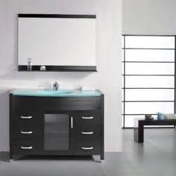Modern Bathroom Glass Vanities Bathroom Set Of Glass Bathroom Vanities Collection 41