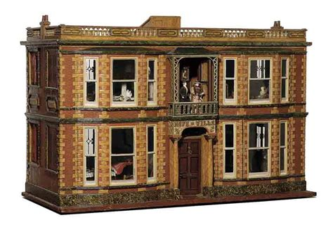 dolls house auction on dollhouses dual personalities