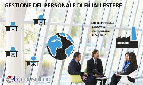 sistema filiali gestione dati personale filiali estere con headquarter