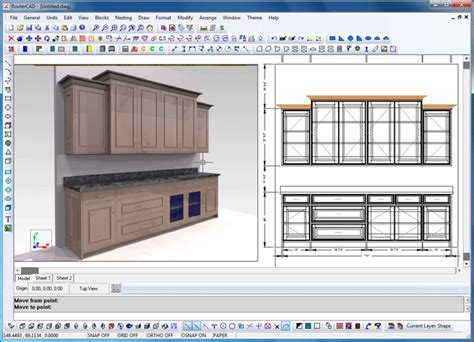 Kitchen Cabinet Layout Software Free | easy kitchen cabinet design software 2016