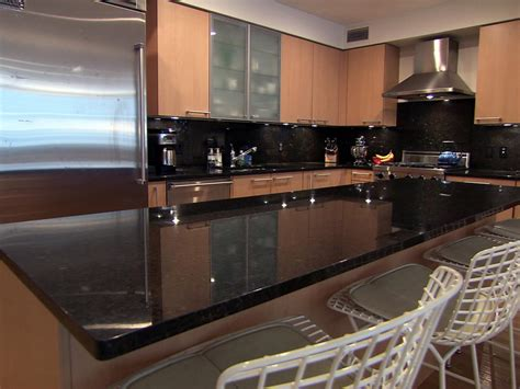 black kitchen countertops marble kitchen countertop options hgtv