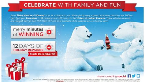 Coke Rewards Hotel Gift Card - 12 days of deals with my coke rewards points miles and martinis