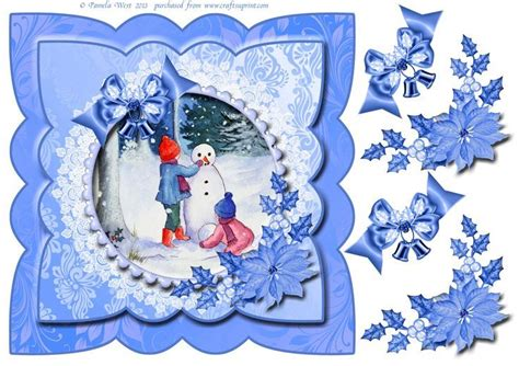 3d Decoupage Free Downloads - pin by riena bakker on kerstvellen printebels