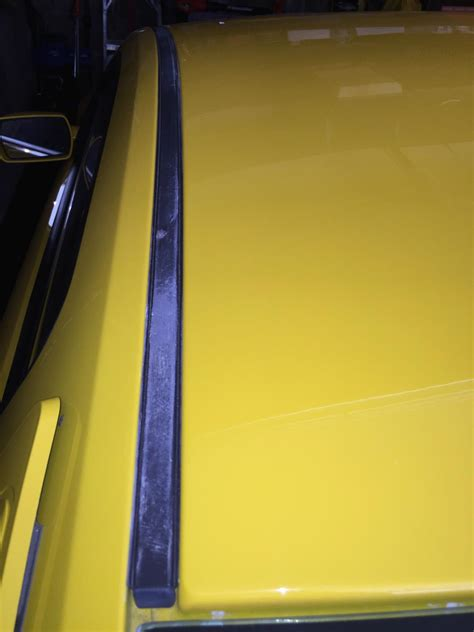 install ford roof trim molding left side    mustang americanmuscle