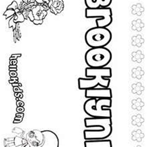 coloring pages of the name brittany how to draw name brittany