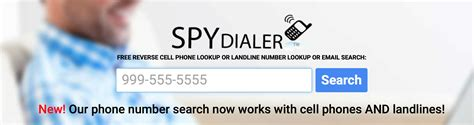 Best Free Phone Number Search Using Spydialer To Lookup A Phone Number 2016