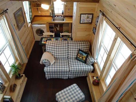 Tiny House Living Room | living room dining kitchen tiny house interiors