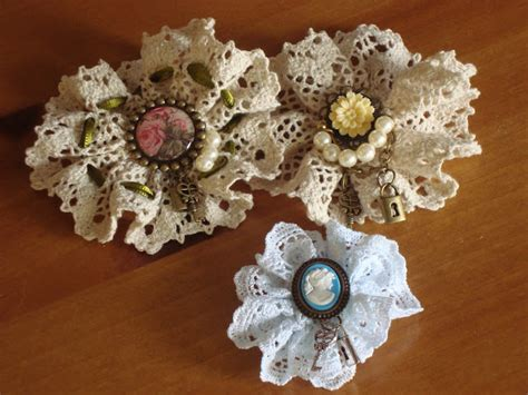 how to make lace jewelry vintage lace brooches favecrafts