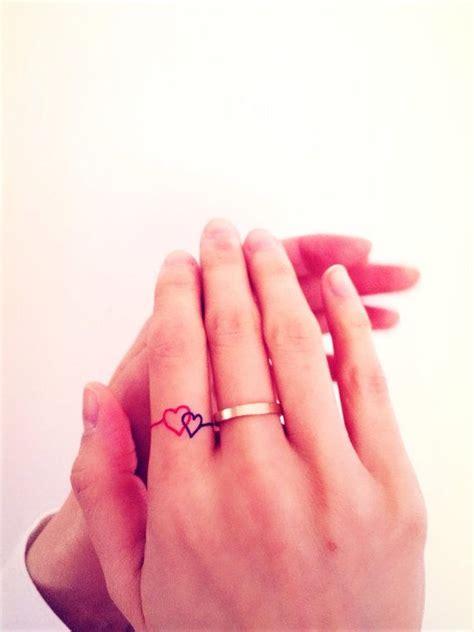 ring finger tattoo quotes 2pcs ring tattoo set inknart temporary tattoo script