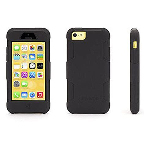 Grifin Survivor Iphone 6g Griffin Survivor Skin For Iphone 5c Black Mobilezap