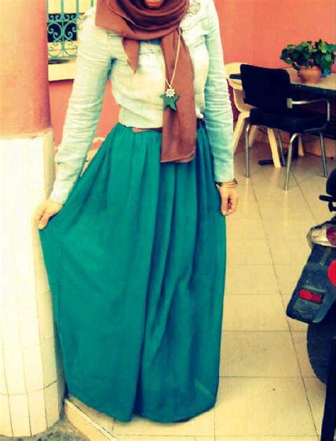 maxi skirt with muslimahjournalist