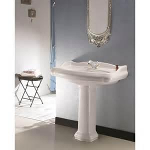 vente lavabo colonne design pour salle de bain r 233 tro