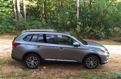 mitsubishi suv 2015 inside review 2016 mitsubishi outlander shows an improved