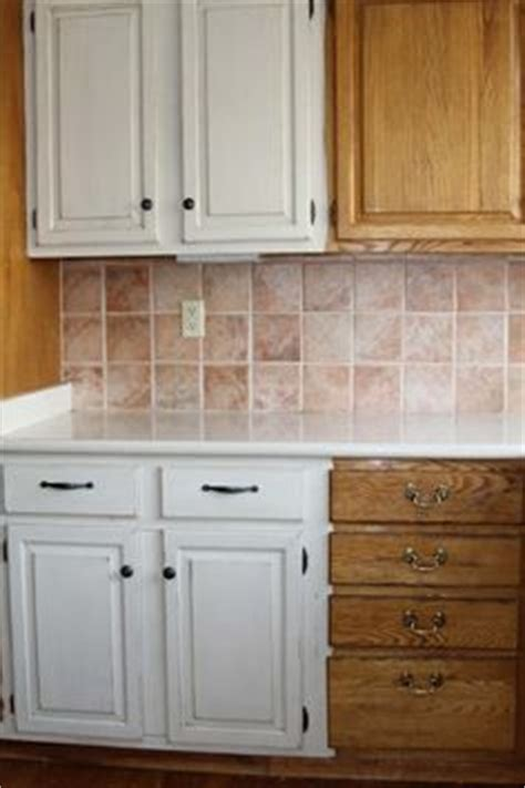 painting old oak cabinets white 1000 images about bathroom on oak cabinets