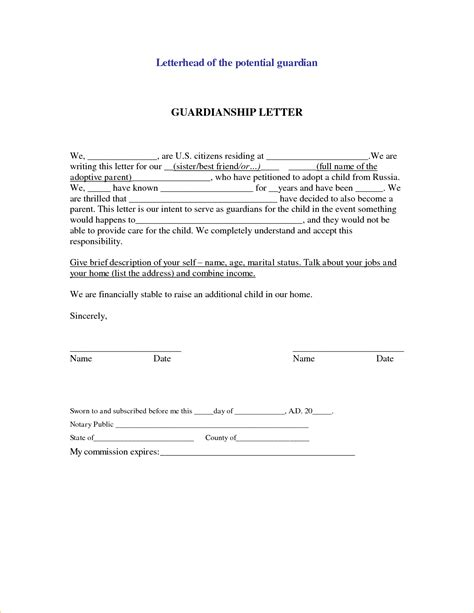 Character Letter Child Custody Sle Child Custody Letter Template Ideas Character Reference