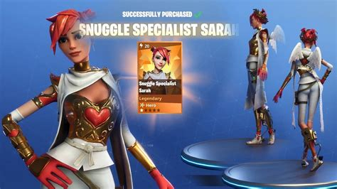 which fortnite skin am i fortnite snuggle specialist buying and trying